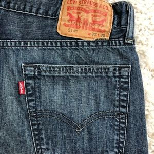 Levi's 514 classic straight fit 32x30